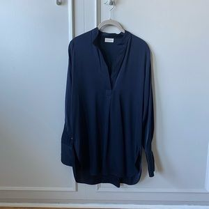 By Malene Birger silk tunic blouse NWOT